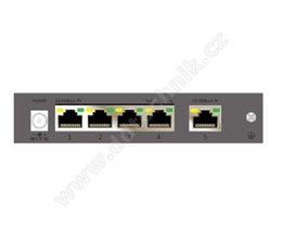 CP-TNW-HP4H1-6  PoE switch, 5 x 10/100 Mbps